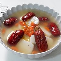 红枣枸杞汤年糕#新年开运菜,好事自然来#的做法图解8