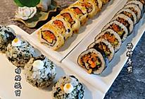 传统和反转寿司&饭团的做法