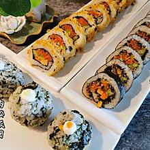 传统和反转寿司&饭团
