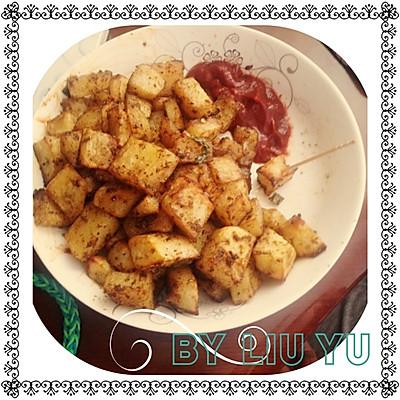 零食 烤土豆