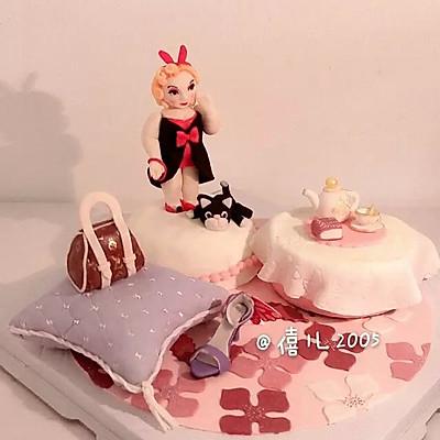 翻糖蛋糕--胖妞的幸福生活