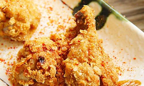 超人气香辣炸鸡的做法