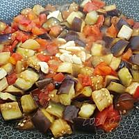 蒜柿辣酱焖茄子的做法图解4