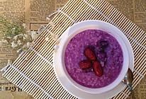 紫薯红枣粥的做法