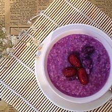 紫薯红枣粥
