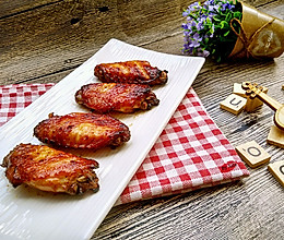 蜂蜜烤翅-空气炸锅版的做法