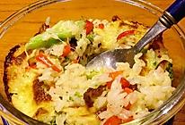 蔬菜芝士焗饭的做法