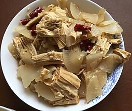 腐竹萝卜煲的做法