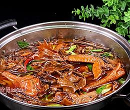 小鸡炖蘑菇这样做鸡肉香而不柴, 汤浓味美, 粉条特好吃的做法