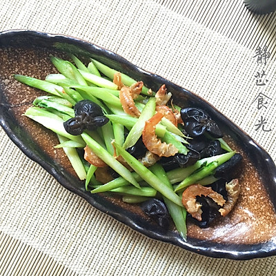芦笋清炒合味菜