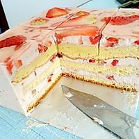 草莓慕斯蛋糕~简单~和蛋糕店的味道一样的做法图解18