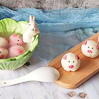 #元宵节美食大赏#猪猪黑芝麻汤圆的做法图解19