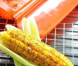 烤玉米(微波炉版)的做法