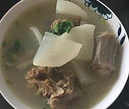 牛尾骨营养汤的做法
