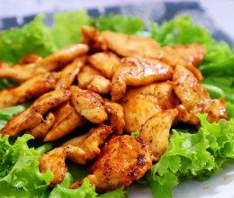 减肥主食代餐!香煎鸡胸肉  低脂低卡 减重食谱!的做法