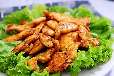 减肥主食代餐!香煎鸡胸肉  低脂低卡 减重食谱!