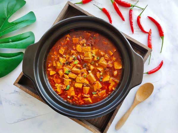 家常麻辣豆腐的做法