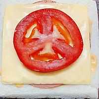 #一人一道拿手菜# 培根三明治的做法图解4
