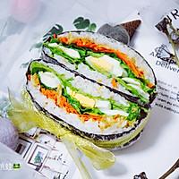 藜麦米饭三明治