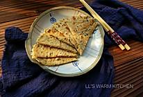 快手早餐饼:黑芝麻虾皮麦麸饼的做法
