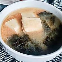 家常味噌汤