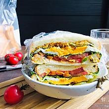 营养三明治,美好的一天从早餐开始