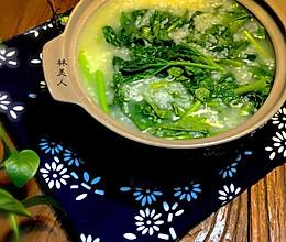 冬寒菜粥的做法