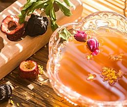 【酸梅汤】最正宗的古法酸梅汤,是烟熏味的的做法