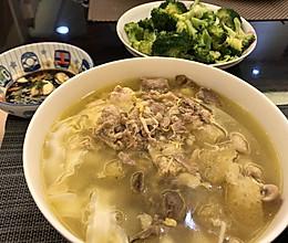 熬一锅鸡汤 煮一碗好面的做法