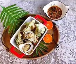 #中式减脂餐#清蒸海蛎子的做法