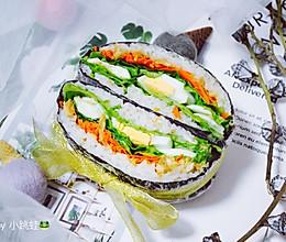 藜麦米饭三明治的做法
