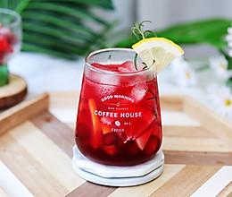 #轻饮蔓生活#蔓越莓柠檬冰饮的做法