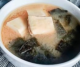 家常味噌汤的做法