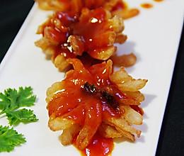 糖醋菊花鱼的做法