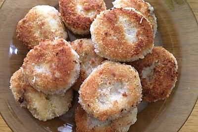 虾肉土豆饼