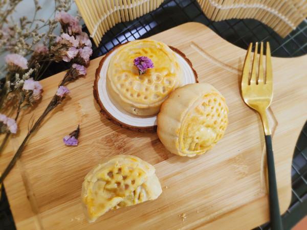 香芋Q心月饼 不同凡味的做法