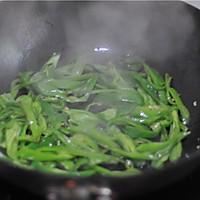 辣椒炒肉#樱花味道#的做法图解5