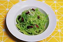 10分钟减肥小菜之凉拌莴笋丝,麻辣鲜脆,爽口开胃,低脂减肥!的做法