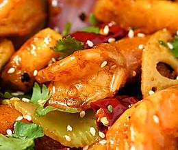 日食记 | 干锅虾的做法