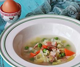 #春季减肥,边吃边瘦#法式蔬菜汤的做法