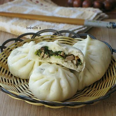 香菇青菜包子