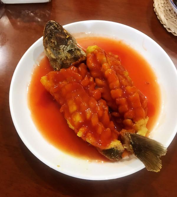 松鼠鲈鱼的做法
