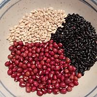 #秋天怎么吃#牛奶红豆粥的做法图解1