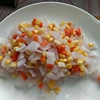 素蔬炒面包丁#一人一道拿手菜#的做法图解4