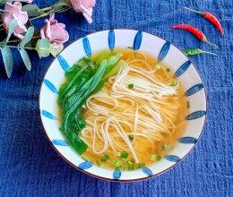 #下饭红烧菜#五分钟快手上海本帮清汤面的做法