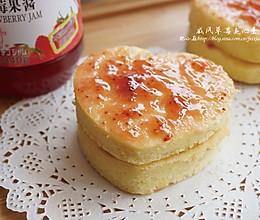 戚风新手入门,酸酸甜甜小蛋糕:戚风草莓夹心蛋糕的做法