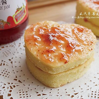 戚风新手入门,酸酸甜甜小蛋糕:戚风草莓夹心蛋糕