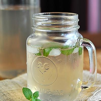 冰薄荷糖梨水