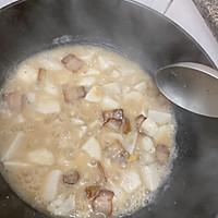 芋头炖腊肉的做法图解6