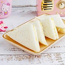 #馅儿料美食,哪种最好吃#炼乳鸡蛋三明治